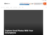 Capture Good Photos With Your Smartphone