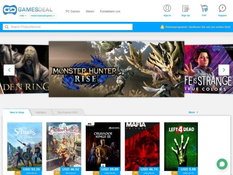 GamesDeal screenshot