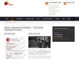 Sand Casting Expert Services by Gamma Foundries