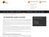 3D Printing Sand Casting for a Variety of Applications by Gamma Foundries