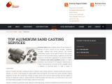 Top Provider of Aluminium Sand Casting Services – Gamma Foundries
