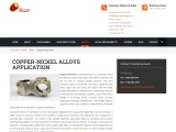 Best Copper Nickel Alloy Casting Services by Gamma Foundries