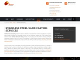 Affordable Stainless-Steel Casting Services by Gamma Foundries