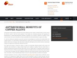 Antimicrobial Benefits of Copper Alloys by Gamma Foundries