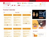 Indian Calendar 2021 – Hindu Festivals Of India