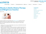 Weight Loss Tips and Dietary Therapy by Gastro SB