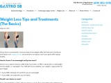 Weight Loss Tips and Treatments by Gastro SB