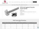 PTFE Hose – PTFE Corrugated Transfer Hose (GTC) Manufacturers