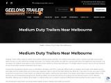 Medium Duty Trailers Melbourne