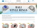 Unique & Ethnic Bali Style Ring Collection