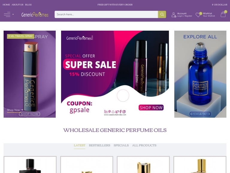Generic Perfumes Coupon Codes
