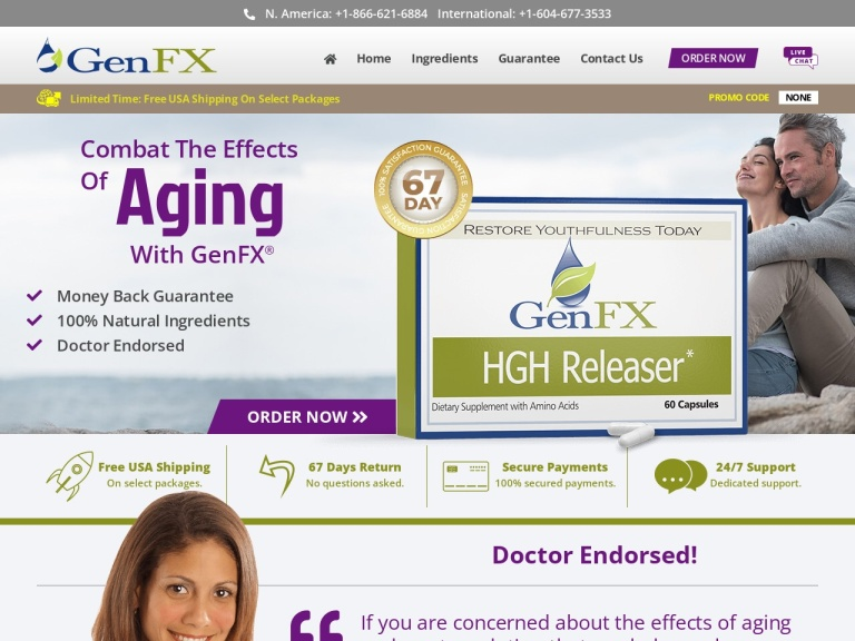GenFX screenshot