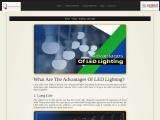 What are the Advantages of LED Lighting?