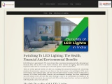 Benefits of LED Lights In India