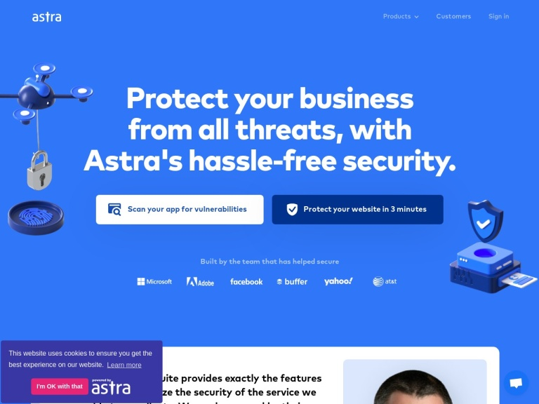 Astra Security Coupons and Discounts March 2021 screenshot