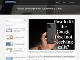 +1-325-238-8006 Google Pixel is not Receiving Calls-Getechinfo