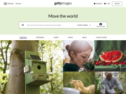 Getty Images screenshot