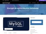 Encrypt an entire MySQL Database
