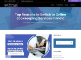 Best Reasons to Switch to Online Bookkeeping Services in India and USA