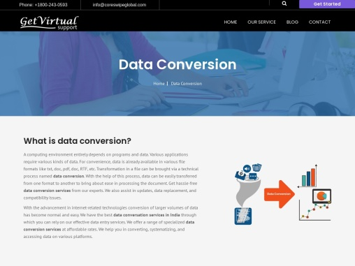 Top Data Conversion Services | Get Virtual Support