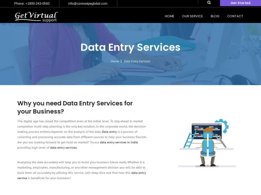 Best Data Entry Services | Get Virtual Support