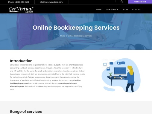 Top Online Bookkeeping Services | Get Virtual Support