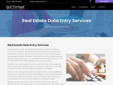 Top Real Estate Data Entry Services