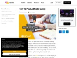 Everything you need to know on how to plan a digital event | Gevme