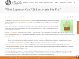 What Expenses Can ABLE Accounts Pay For? Gilsoul  Associates