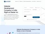 Web Development Services Provider Company In India – Glasier Inc.