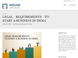 Legal Requirements to start a Business in India