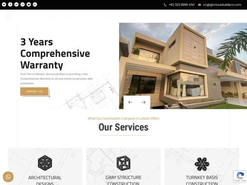 best construction company Pakistan