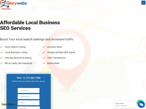 Affordable SEO Services, Local Business SEO Services – GloryWebs