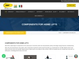 COMPONENTS FOR HOME LIFTS – GMV