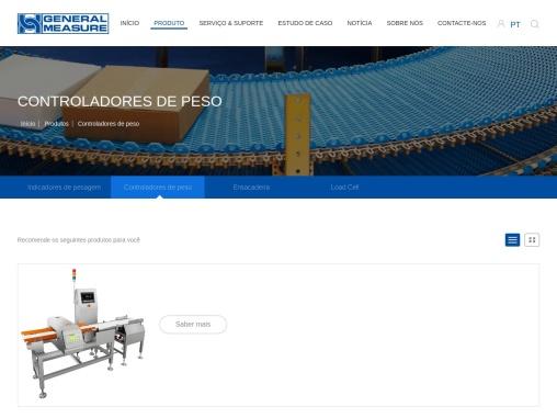 Controladoras de peso | Fabricante de la | General Measure Technology
