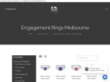 White Gold Wedding Rings Melbourne – GN Designer Jewellers