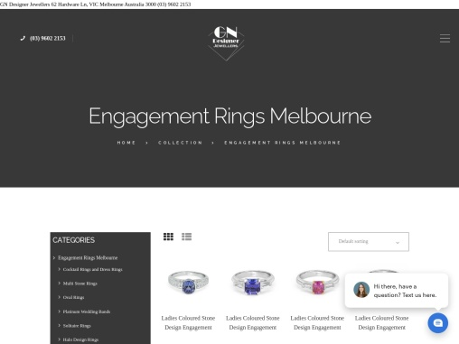 White Gold Wedding Rings Melbourne – GN Designer Jewellers