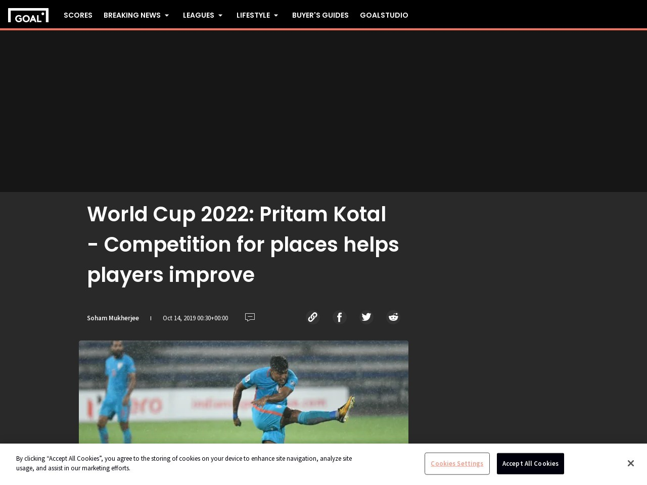 World Cup 2022: Pritam Kotal – Competition for places helps players…