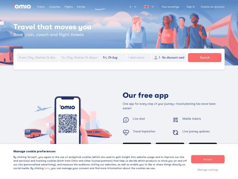 Goeuro Travel Gmbh Uk & Us screenshot