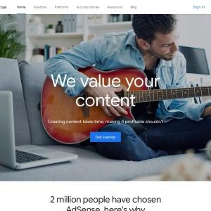 Google AdSense - ウェブサイトを収益化