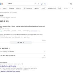 portable - Google ŒŸõ