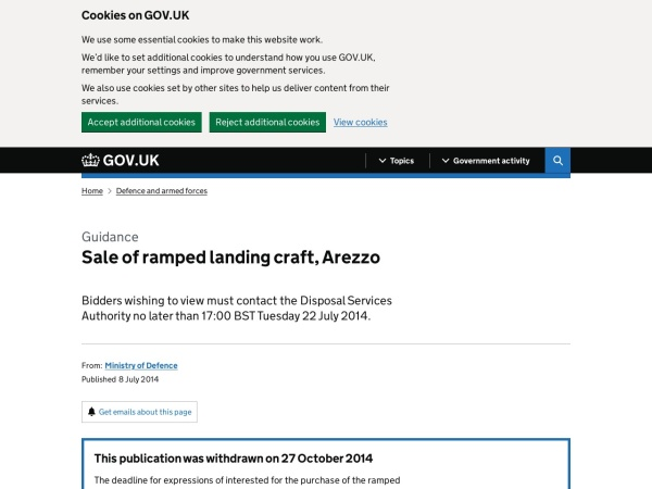 https://www.gov.uk/government/publications/sale-of-ramped-landing-craft-arezzo