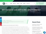 WHY CHOOSE ISO 41001 WITH GLOBAL QUALITY SERVICES ?