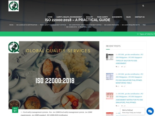 ISO 22000:2018 – A PRACTICAL GUIDE