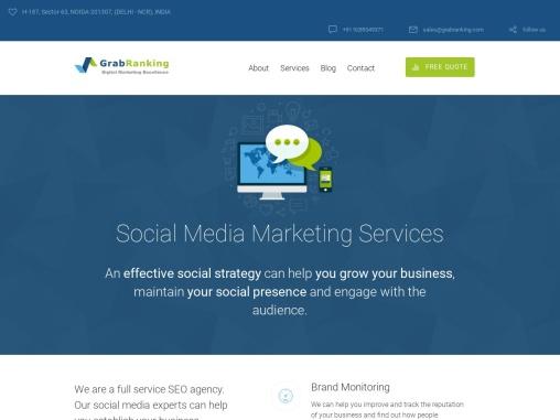 Top Social Media Services Agency India