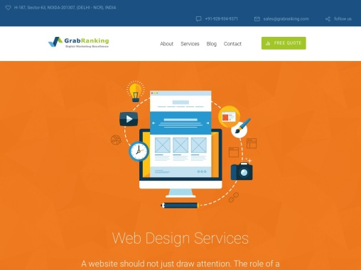 Affordable Web Design Services Agency India