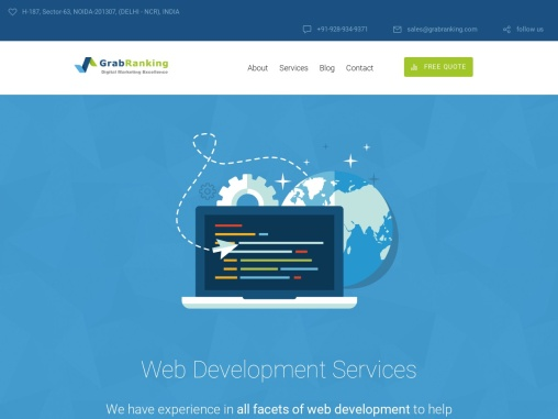 Top Web Development Services Agency India