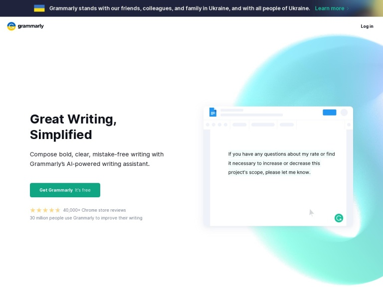 Grammarly Discount, Get Remarkable Pricing and Coupon in 2019 screenshot