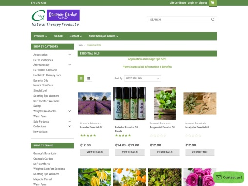 All Natural Essential Oils Made in Topsham USA