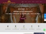 Wedding Banquets Hall in Kharghar | Grand Lotus Banquets Hall